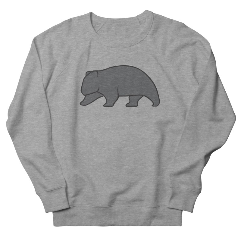 Wary Wombat Men's Sweatshirt by BMaw's Artist Shop