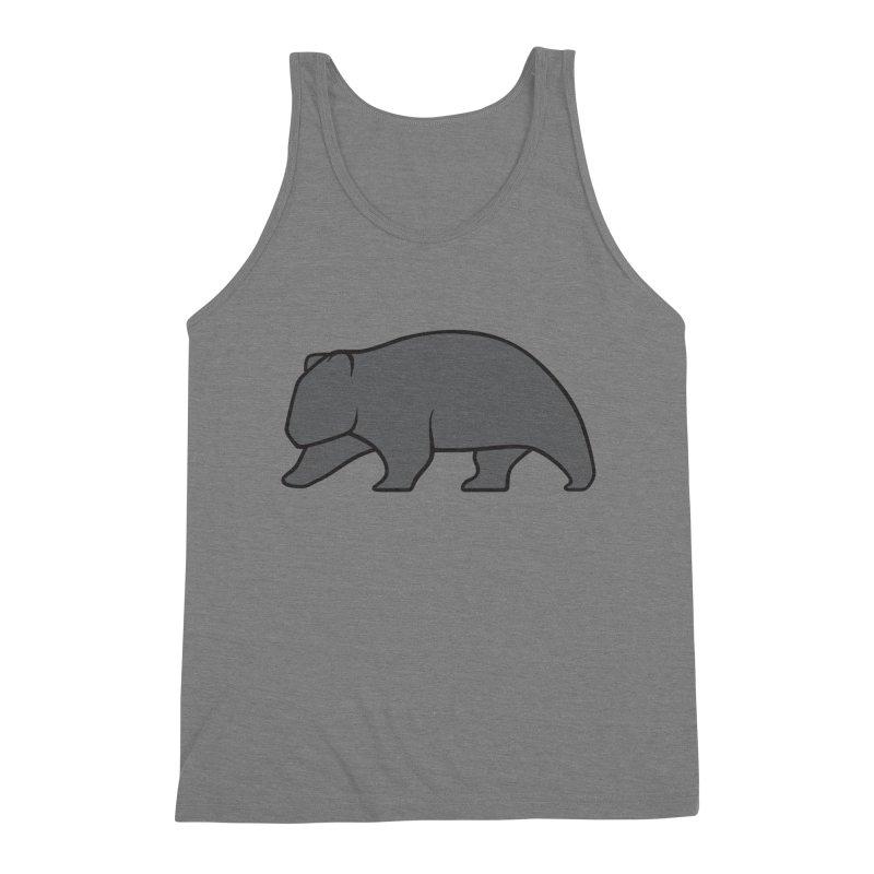 Wary Wombat Men's Tank by BMaw's Artist Shop