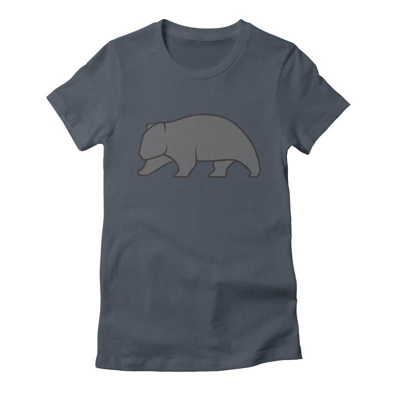 Wary Wombat Women's T-Shirt by BMaw's Artist Shop
