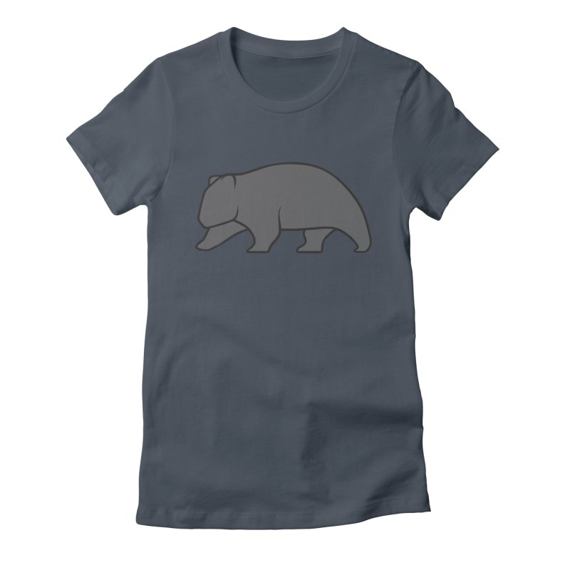 Wary Wombat Women's T-Shirt by BMaw's Artist Shop