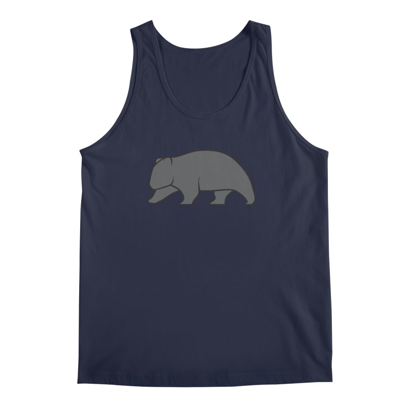 Wary Wombat Men's Tank by BMaw's Artist Shop