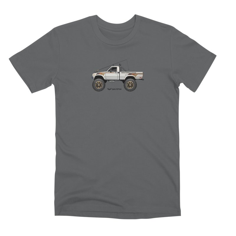 80's Toyota SR5 Adventure Rig Men's Premium T-Shirt by Boneyard Studio - Boneyard Fly Gear