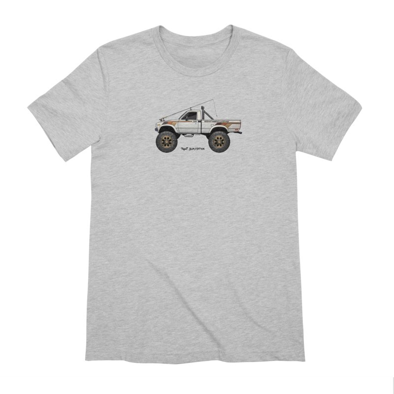 80's Toyota SR5 Adventure Rig Men's Extra Soft T-Shirt by Boneyard Studio - Boneyard Fly Gear