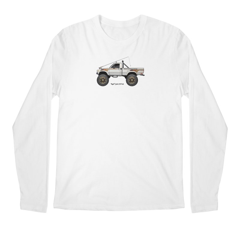 80's Toyota SR5 Adventure Rig Men's Regular Longsleeve T-Shirt by Boneyard Studio - Boneyard Fly Gear