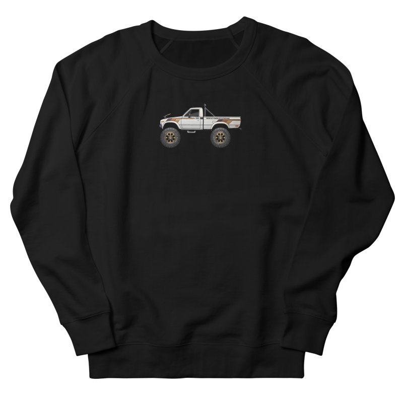 80's Toyota SR5 Adventure Rig Men's French Terry Sweatshirt by Boneyard Studio - Boneyard Fly Gear