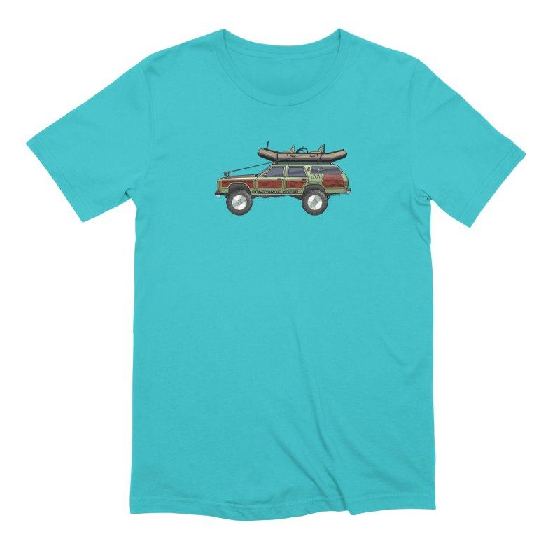 The Wagon Queen Family Truckster Adventure Rig Men's T-Shirt by Boneyard Studio - Boneyard Fly Gear