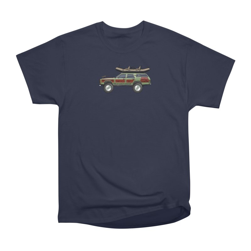 The Wagon Queen Family Truckster Adventure Rig Men's Heavyweight T-Shirt by Boneyard Studio - Boneyard Fly Gear