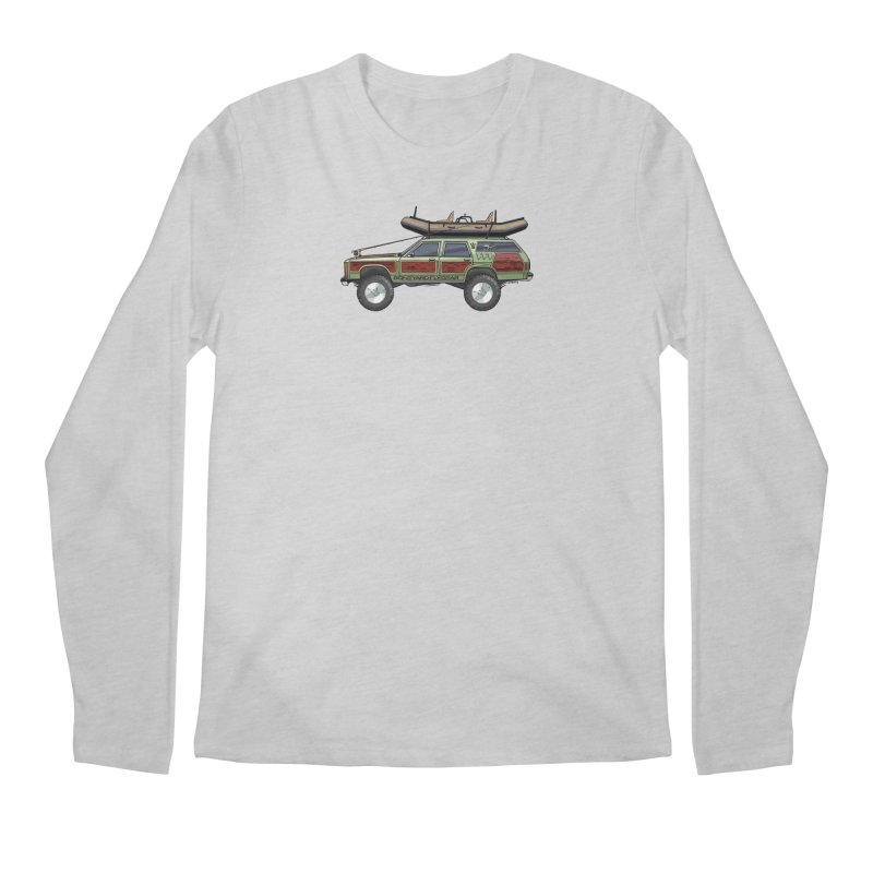 The Wagon Queen Family Truckster Adventure Rig Men's Regular Longsleeve T-Shirt by Boneyard Studio - Boneyard Fly Gear
