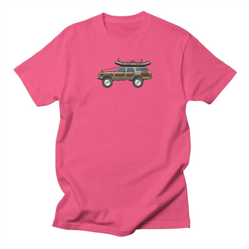 The Wagon Queen Family Truckster Adventure Rig Men's Regular T-Shirt by Boneyard Studio - Boneyard Fly Gear