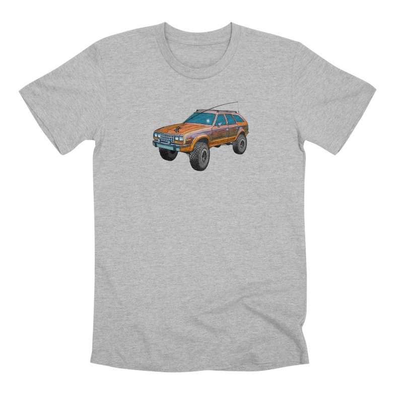 AMC Eagle Adventure Rig Men's Premium T-Shirt by Boneyard Studio - Boneyard Fly Gear