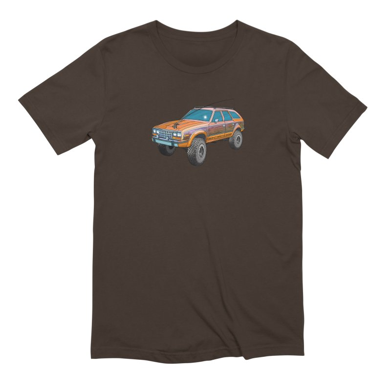 AMC Eagle Adventure Rig Men's Extra Soft T-Shirt by Boneyard Studio - Boneyard Fly Gear