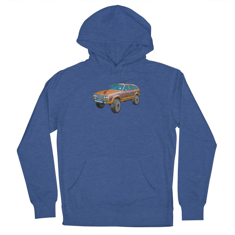 AMC Eagle Adventure Rig Men's French Terry Pullover Hoody by Boneyard Studio - Boneyard Fly Gear