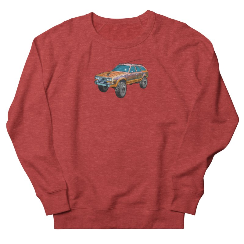 AMC Eagle Adventure Rig Men's French Terry Sweatshirt by Boneyard Studio - Boneyard Fly Gear