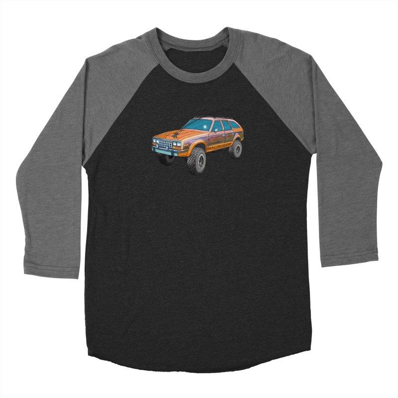 AMC Eagle Adventure Rig Men's Baseball Triblend Longsleeve T-Shirt by Boneyard Studio - Boneyard Fly Gear
