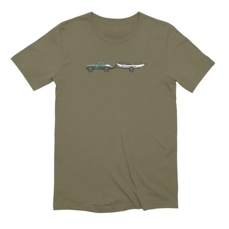 Vintage Porsche Adventure Rig Men's Extra Soft T-Shirt by Boneyard Studio - Boneyard Fly Gear