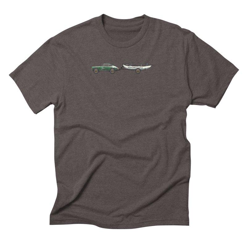 Vintage Porsche Adventure Rig Men's Triblend T-Shirt by Boneyard Studio - Boneyard Fly Gear