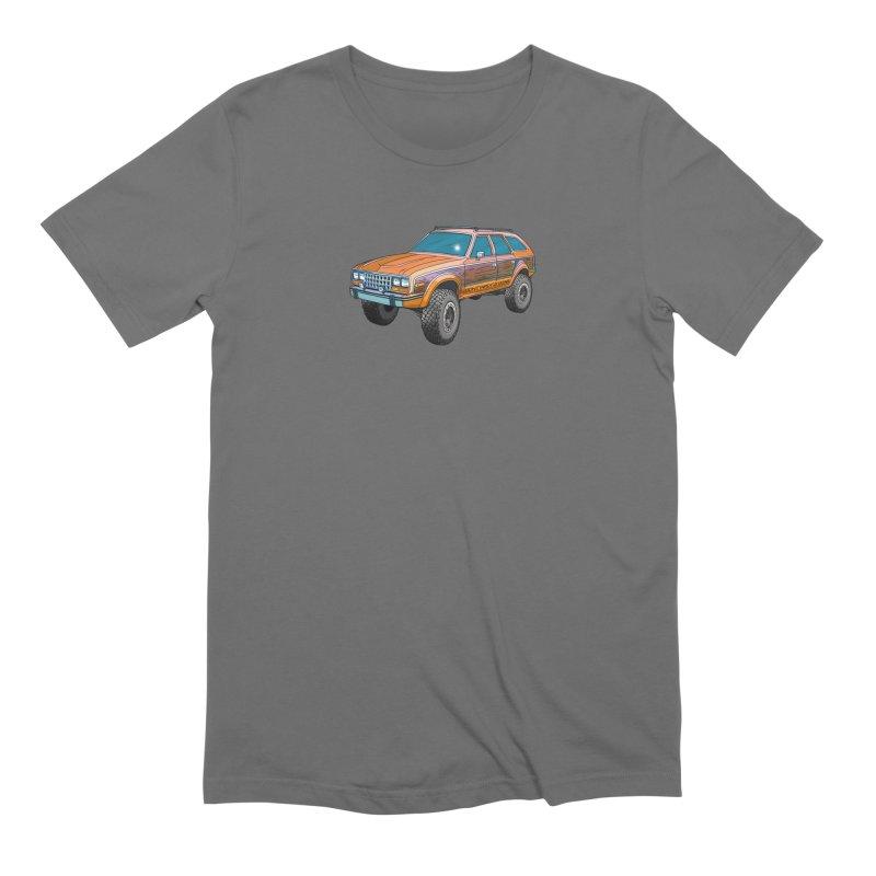 AMC Eagle in Men's Extra Soft T-Shirt Asphalt by Boneyard Studio - Boneyard Fly Gear