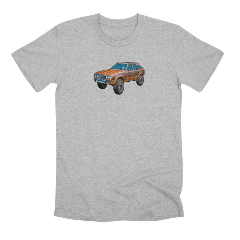 AMC Eagle Men's Premium T-Shirt by Boneyard Studio - Boneyard Fly Gear