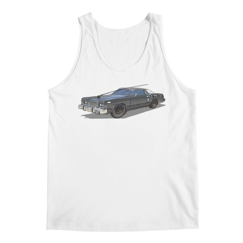 """Clyde"" from The Drake Magazine Men's Regular Tank by Boneyard Studio - Boneyard Fly Gear"