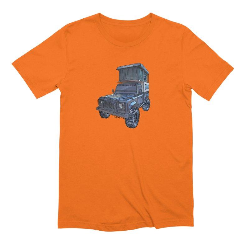 Hower Overland Defender Men's T-Shirt by Boneyard Studio - Boneyard Fly Gear