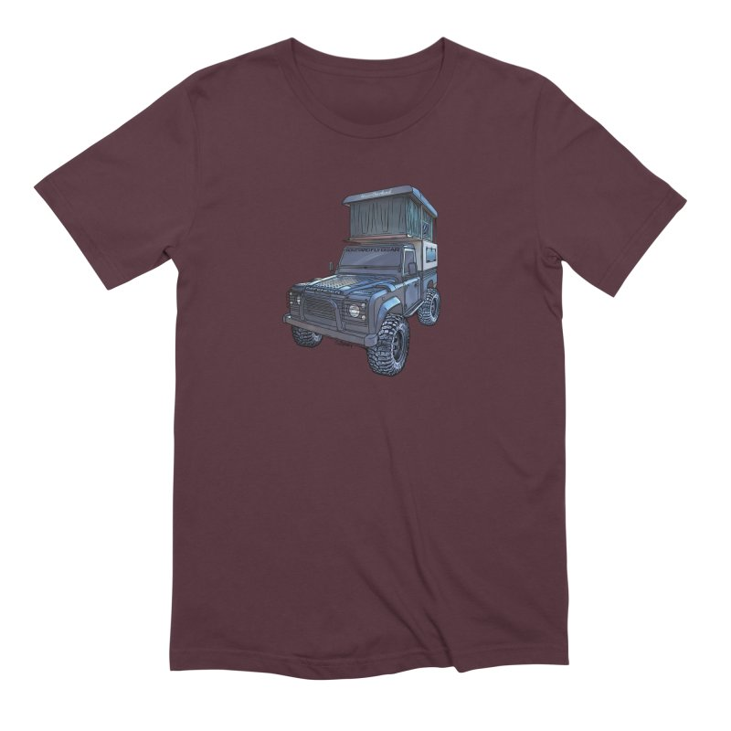 Hower Overland Defender Men's T-Shirt by Boneyard Studio - Boneyard Fly Gear