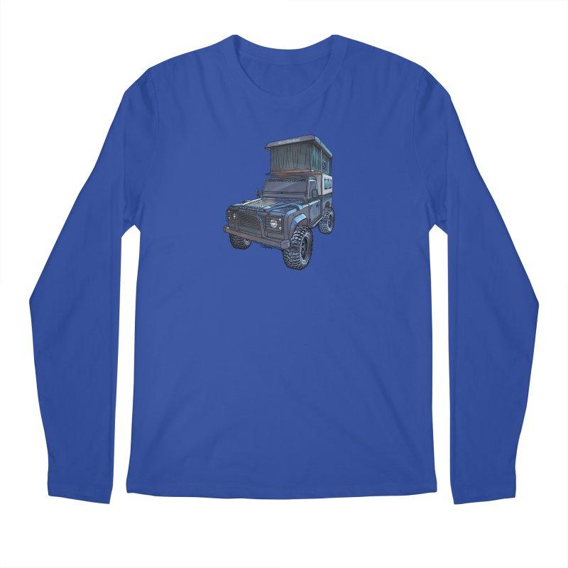 Hower Overland Defender Men's Regular Longsleeve T-Shirt by Boneyard Studio - Boneyard Fly Gear