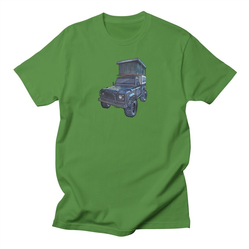 Hower Overland Defender Women's Regular Unisex T-Shirt by Boneyard Studio - Boneyard Fly Gear