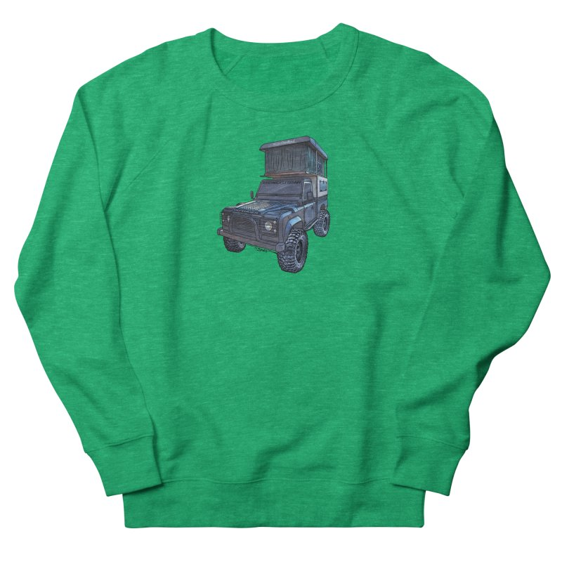 Hower Overland Defender Women's Sweatshirt by Boneyard Studio - Boneyard Fly Gear