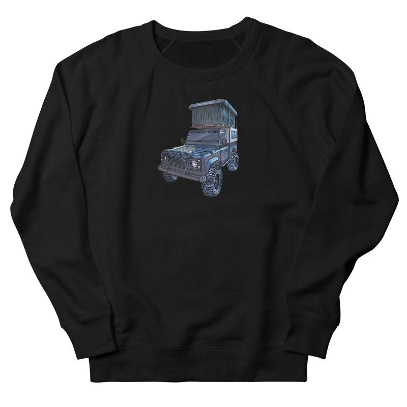 Hower Overland Defender Men's French Terry Sweatshirt by Boneyard Studio - Boneyard Fly Gear