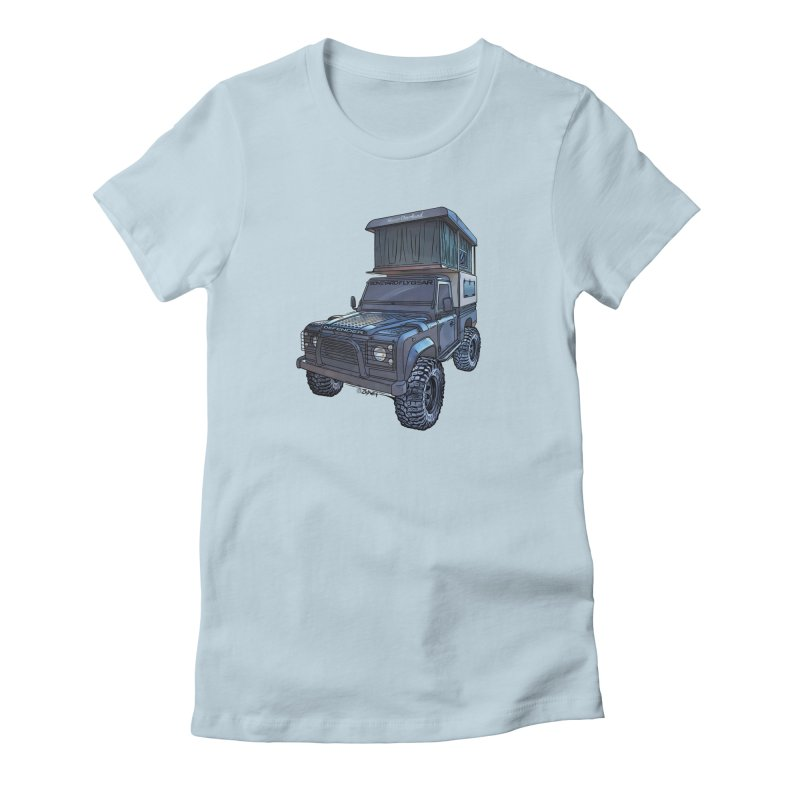 Hower Overland Defender Women's T-Shirt by Boneyard Studio - Boneyard Fly Gear