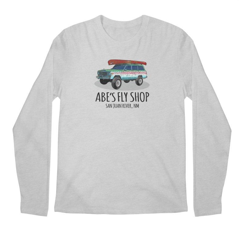 TB Wagoneer - Abe's Fly Shop Men's Longsleeve T-Shirt by Boneyard Studio - Boneyard Fly Gear