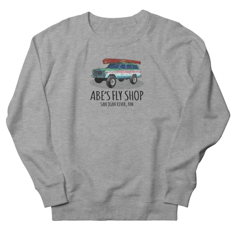 TB Wagoneer - Abe's Fly Shop Men's French Terry Sweatshirt by Boneyard Studio - Boneyard Fly Gear