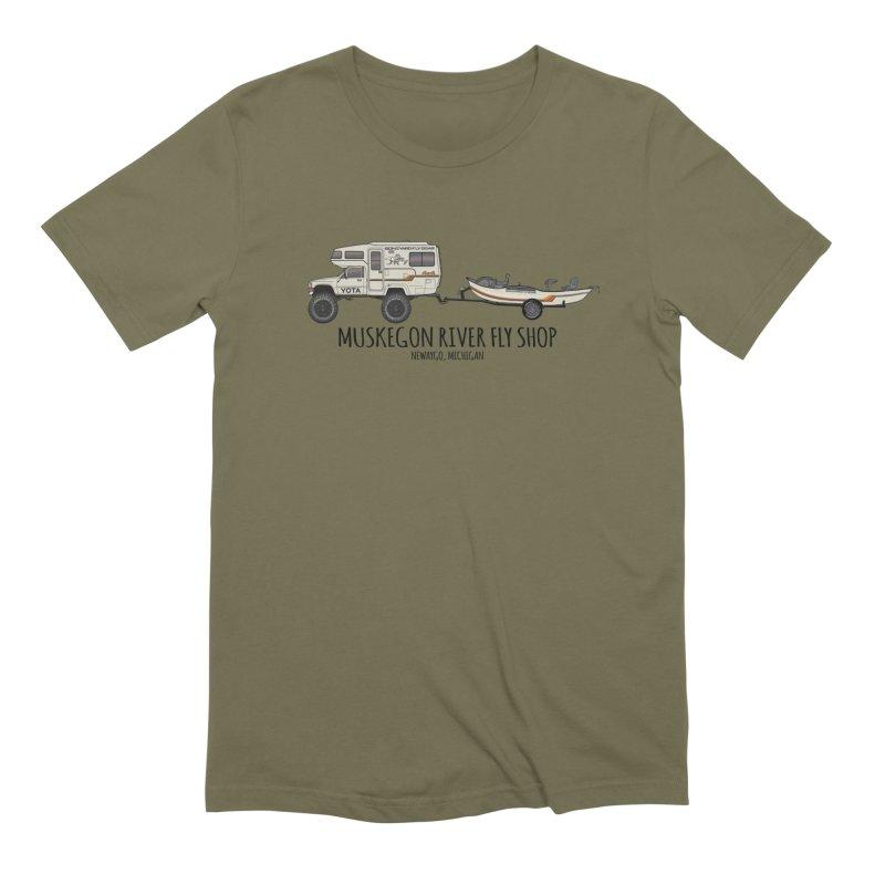 Muskegon River Fly Shop Yota Men's Extra Soft T-Shirt by Boneyard Studio - Boneyard Fly Gear