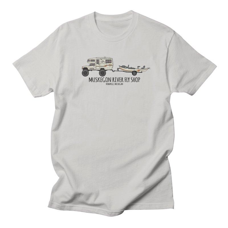 Muskegon River Fly Shop Yota Men's T-Shirt by Boneyard Studio - Boneyard Fly Gear