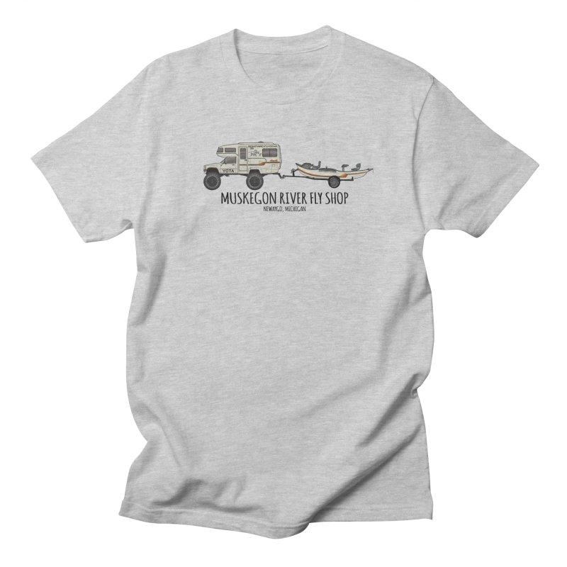 Muskegon River Fly Shop Yota Men's Regular T-Shirt by Boneyard Studio - Boneyard Fly Gear