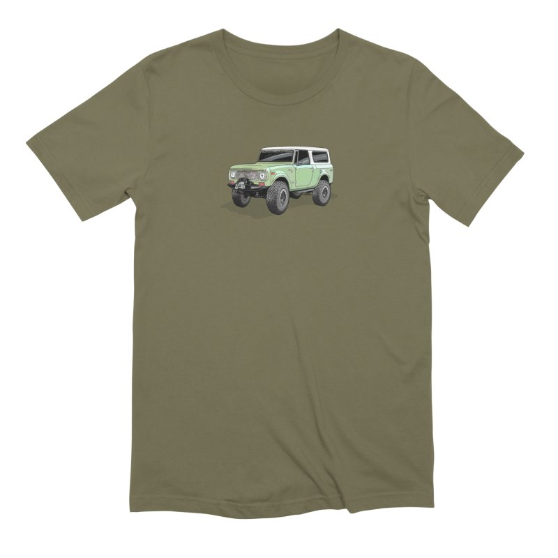 Vintage Scout in Men's Extra Soft T-Shirt Olive by Boneyard Studio - Boneyard Fly Gear