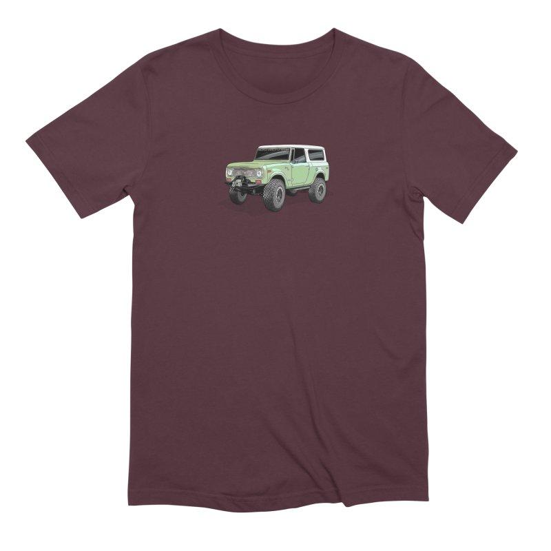 Vintage Scout Men's Extra Soft T-Shirt by Boneyard Studio - Boneyard Fly Gear