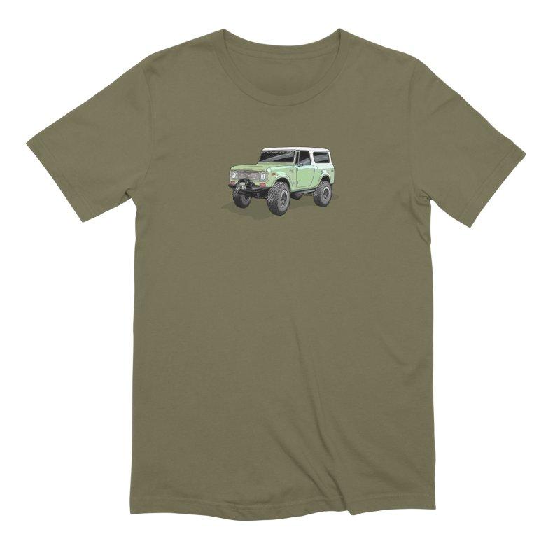 Vintage Scout in Men's Extra Soft T-Shirt Olive by Boneyard Studio - Boneyard Fly Gear
