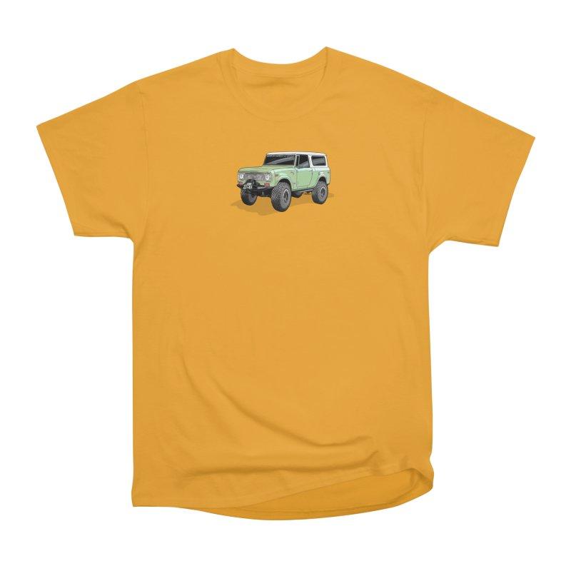 Vintage Scout Men's Heavyweight T-Shirt by Boneyard Studio - Boneyard Fly Gear