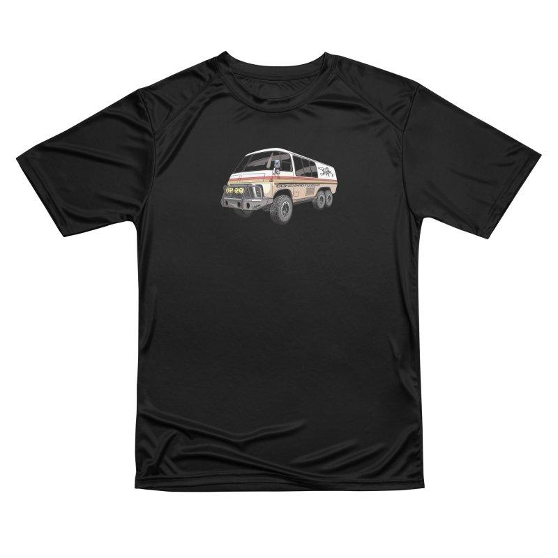 Go Big or Go Home Men's Performance T-Shirt by Boneyard Studio - Boneyard Fly Gear