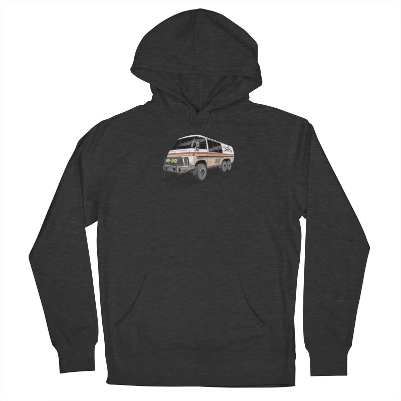Go Big or Go Home Men's French Terry Pullover Hoody by Boneyard Studio - Boneyard Fly Gear