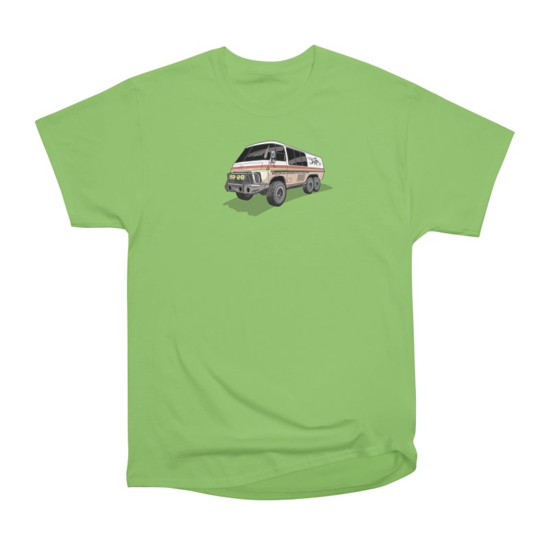 Go Big or Go Home Men's Heavyweight T-Shirt by Boneyard Studio - Boneyard Fly Gear