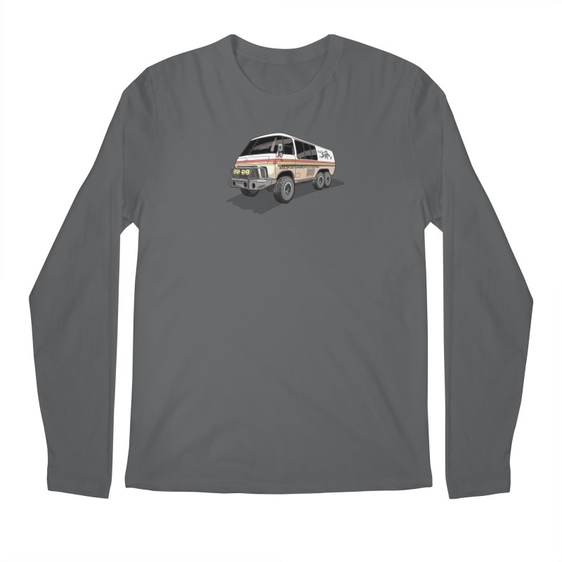 Go Big or Go Home Men's Longsleeve T-Shirt by Boneyard Studio - Boneyard Fly Gear