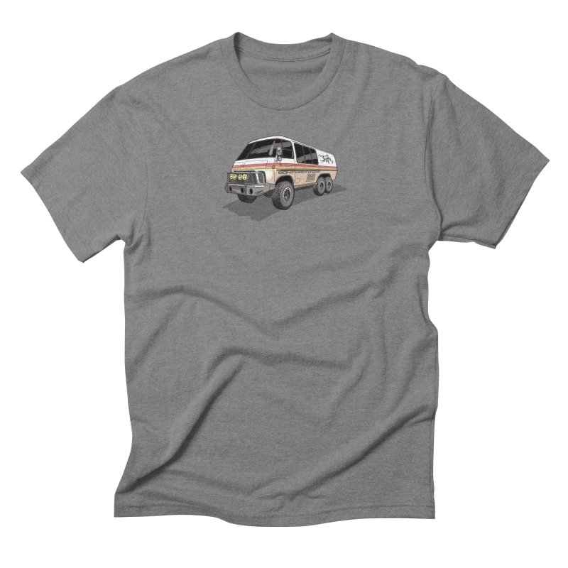 Go Big or Go Home Men's Triblend T-Shirt by Boneyard Studio - Boneyard Fly Gear