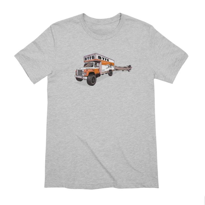 Double Hauler Men's Extra Soft T-Shirt by Boneyard Studio - Boneyard Fly Gear
