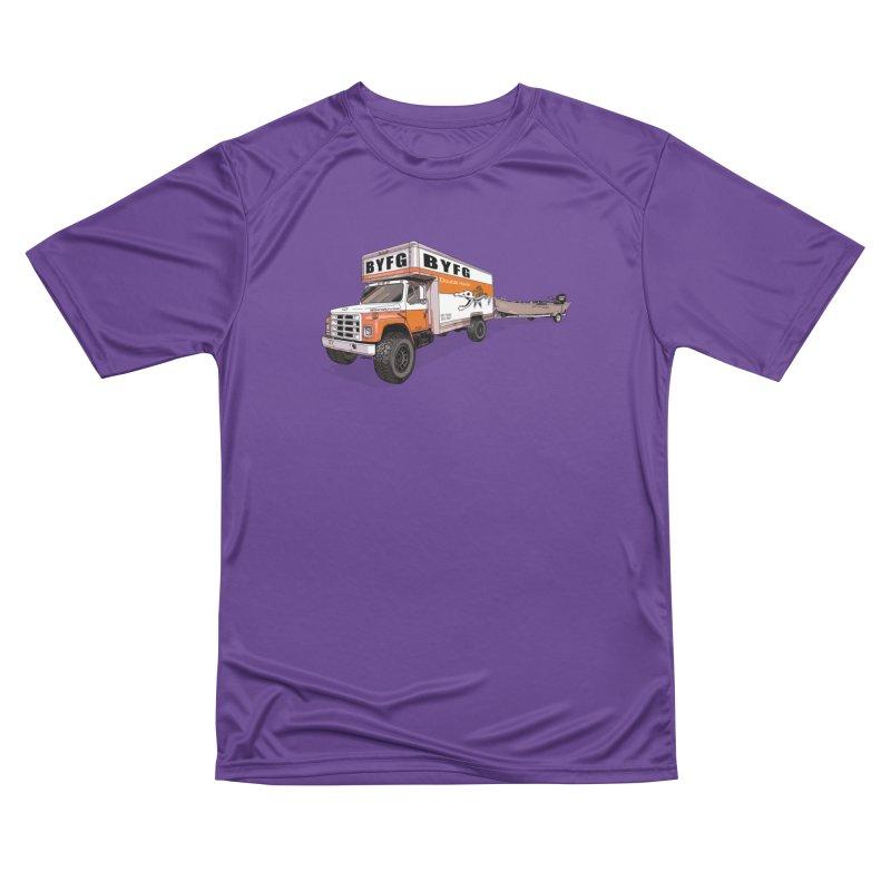 Double Hauler Men's Performance T-Shirt by Boneyard Studio - Boneyard Fly Gear
