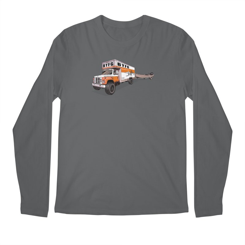 Double Hauler Men's Longsleeve T-Shirt by Boneyard Studio - Boneyard Fly Gear