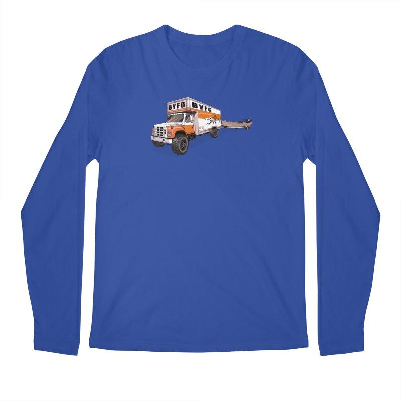 Double Hauler Men's Regular Longsleeve T-Shirt by Boneyard Studio - Boneyard Fly Gear