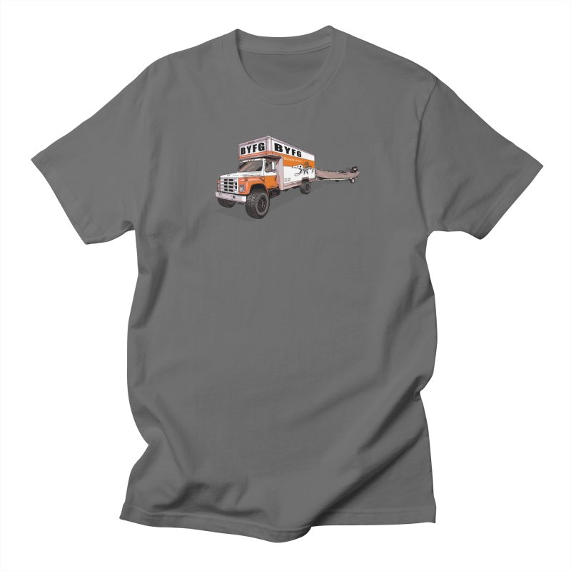Double Hauler Men's T-Shirt by Boneyard Studio - Boneyard Fly Gear
