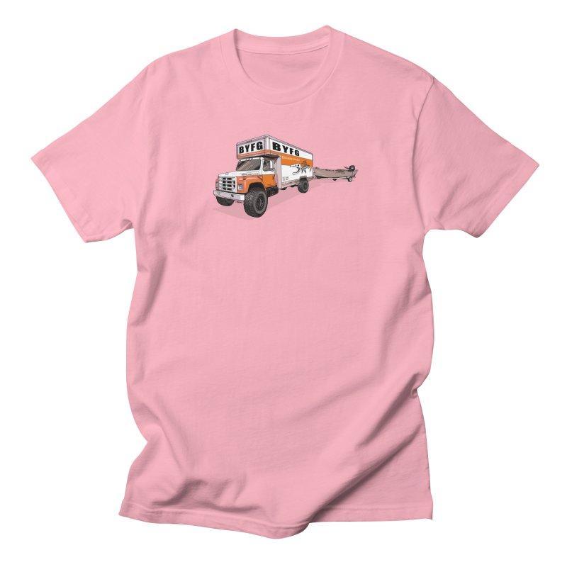 Double Hauler Men's Regular T-Shirt by Boneyard Studio - Boneyard Fly Gear